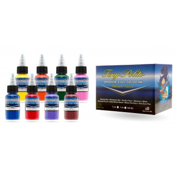 Mom's Tony Polito ink 8 Colores Set