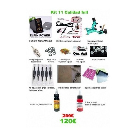 kit tattoo completo 11