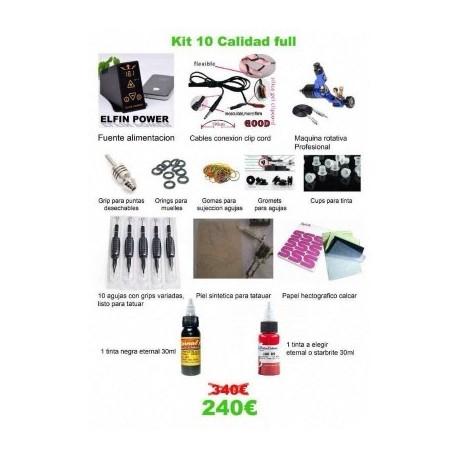 Kit10 - Calidad full