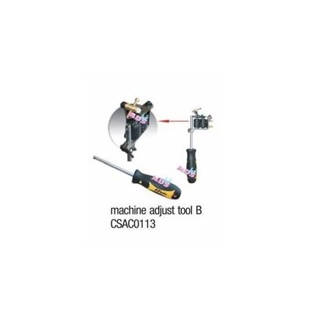 steel machine adjust tool