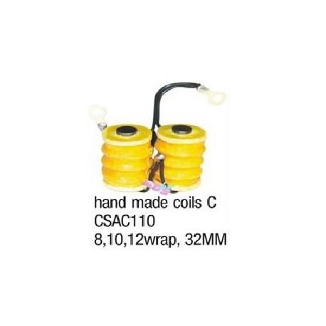 32mm handmade coils.