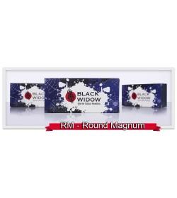 RM - Round Magnum Black Widow